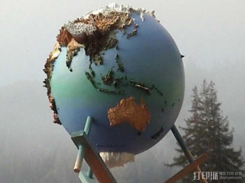 地球仪 3D模型  图4