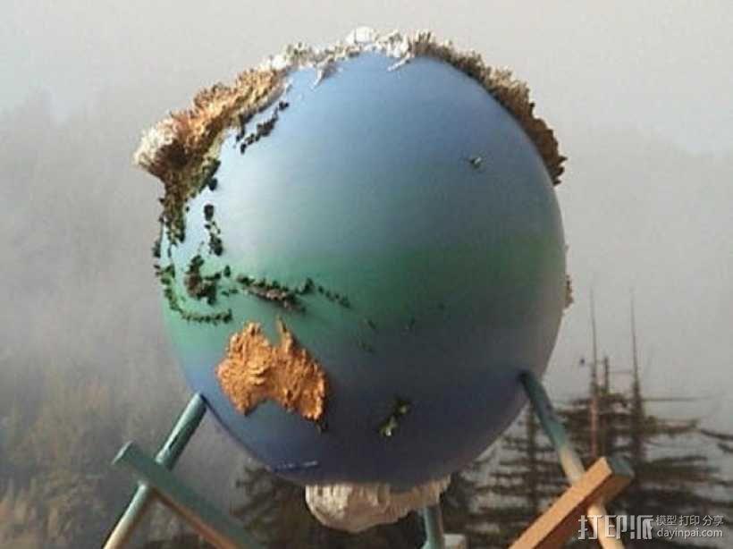地球仪 3D模型  图6