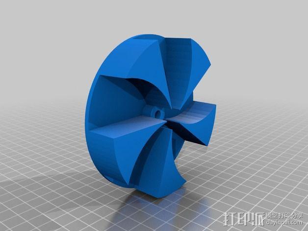 空袭报警器 3D模型  图2