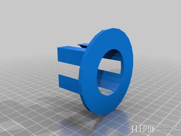 空袭报警器 3D模型  图4