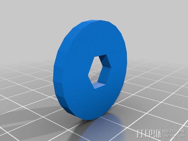 空袭报警器 3D模型  图5