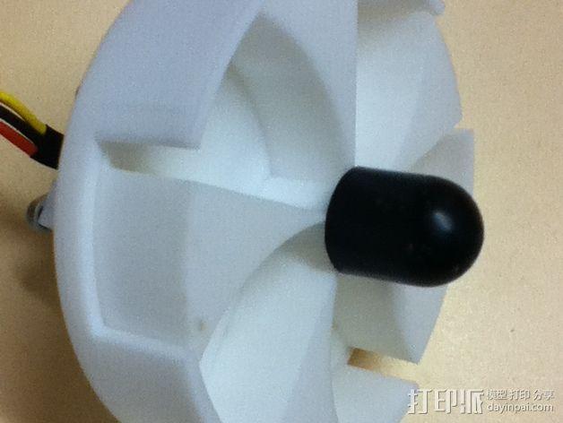 空袭报警器 3D模型  图7