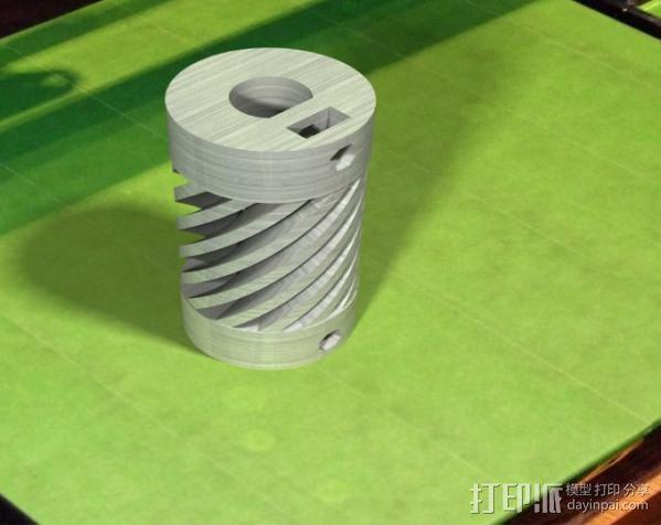 弹性联轴器 3D模型  图9