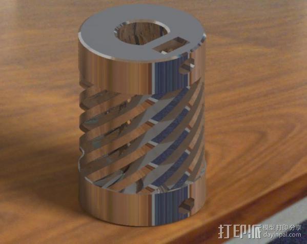 弹性联轴器 3D模型  图12