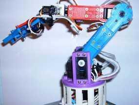 机器人手臂 3D模型