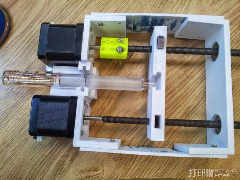 注射泵 3D模型  图1