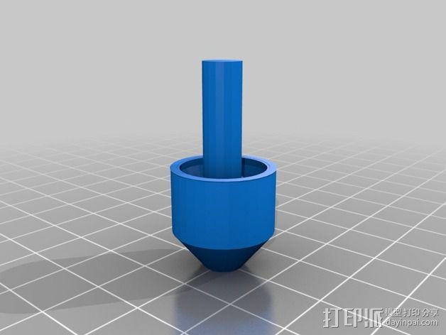 球形接头 3D模型  图2