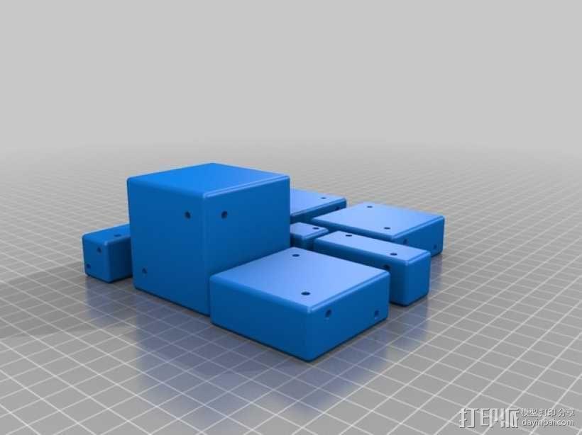 分解正方体  3D模型  图3
