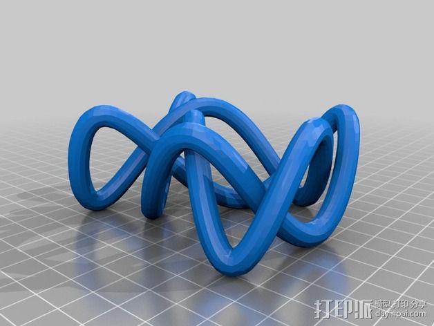 3D线条相交节点 3D模型  图17