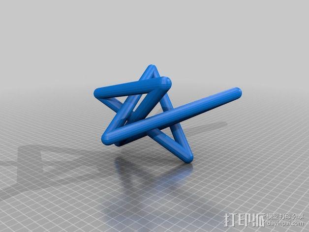 3D线条相交节点 3D模型  图18