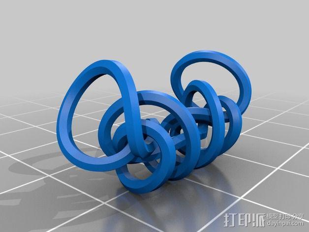 3D线条相交节点 3D模型  图22