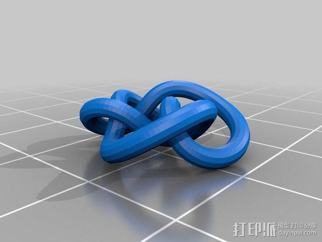3D线条相交节点 3D模型  图36