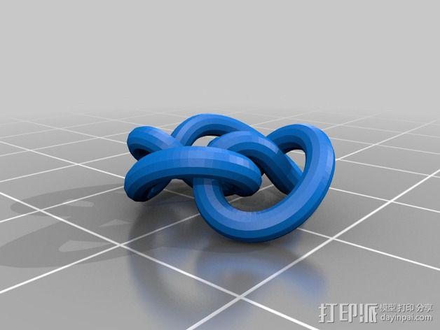 3D线条相交节点 3D模型  图35