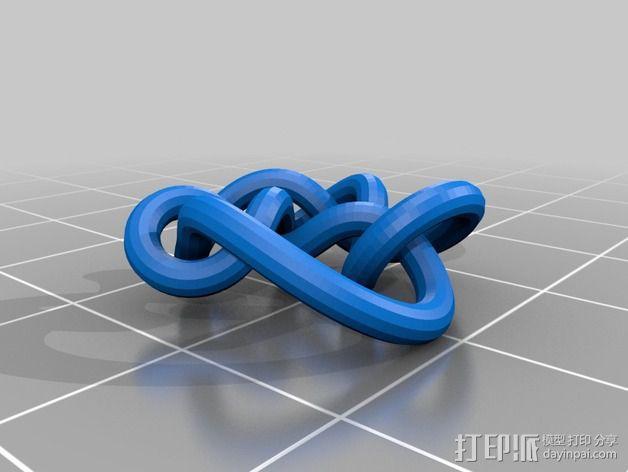 3D线条相交节点 3D模型  图40