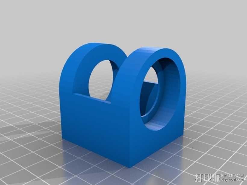 螺旋涡轮桨 3D模型  图4