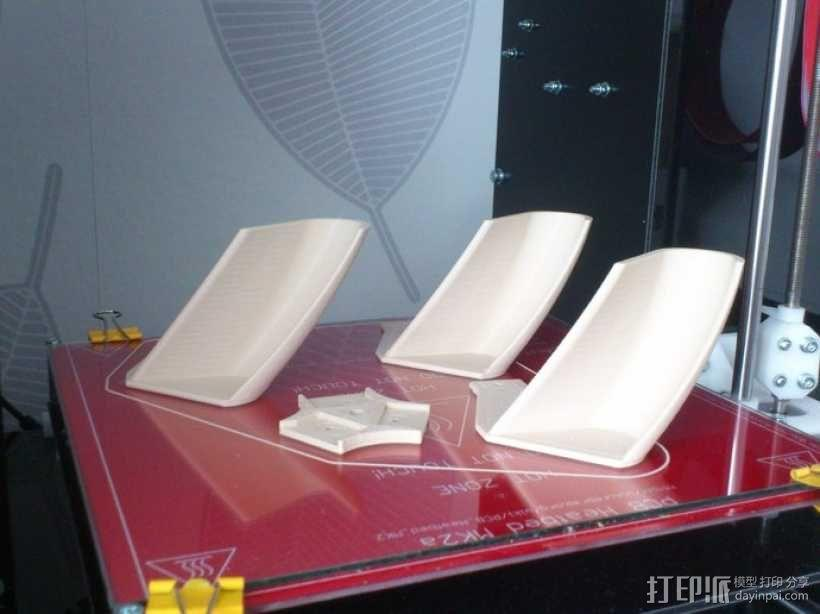 螺旋涡轮桨 3D模型  图3