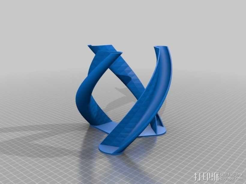 螺旋涡轮桨 3D模型  图12