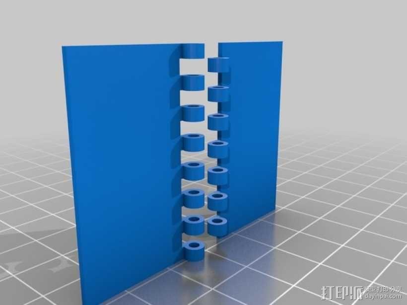 铰链 3D模型  图3