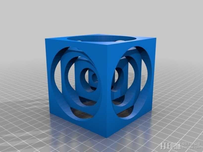 Turner正方体 3D模型  图1