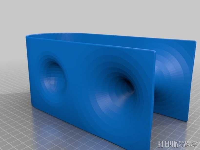 虫孔 模型 3D模型  图3