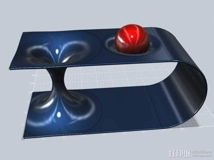 虫孔 模型 3D模型  图5