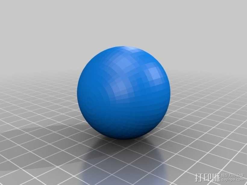 虫孔 模型 3D模型  图4