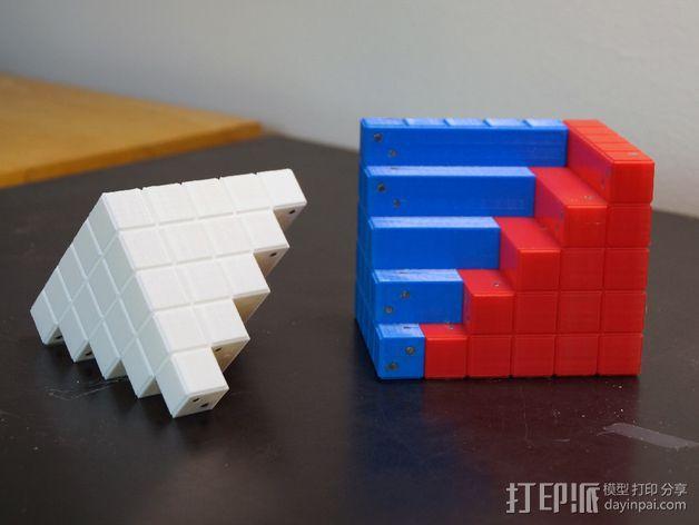 四角锥 3D模型  图3