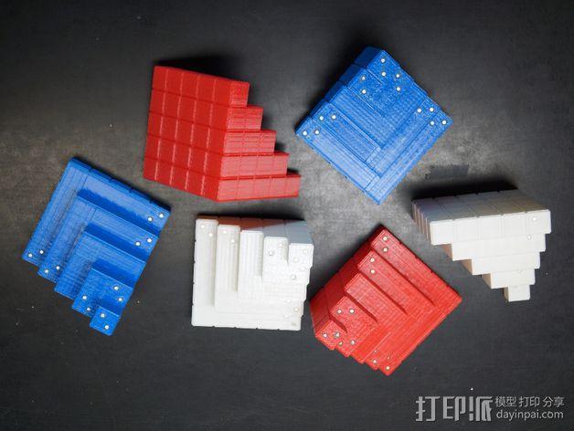 四角锥 3D模型  图5
