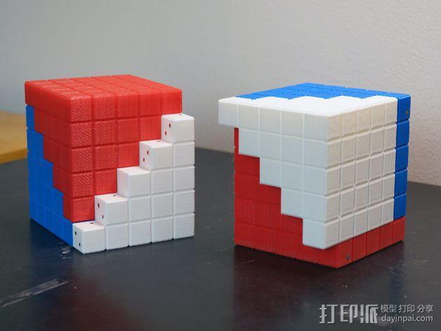 四角锥 3D模型  图6