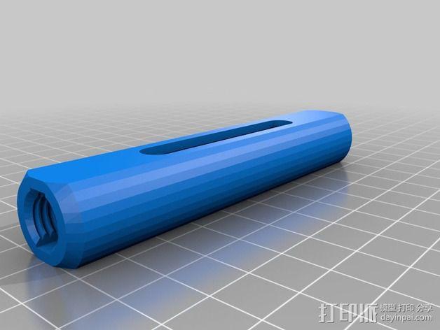 花兰螺丝 3D模型  图3