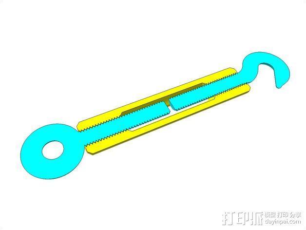 花兰螺丝 3D模型  图12