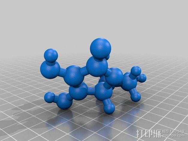 维生素C 3D模型  图5