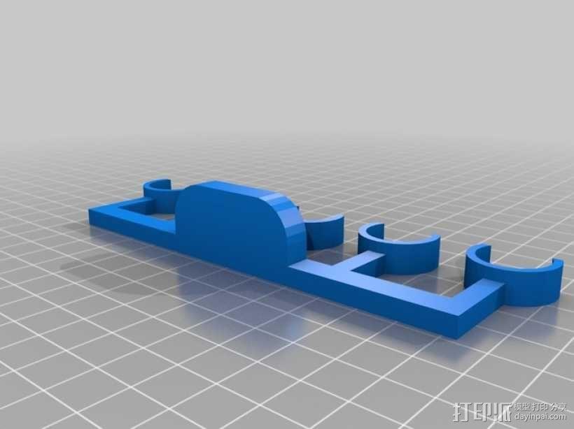 平行线画图工具 3D模型  图3