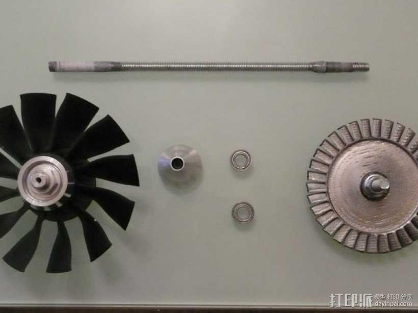 涡轮风扇发动机 3D模型  图10