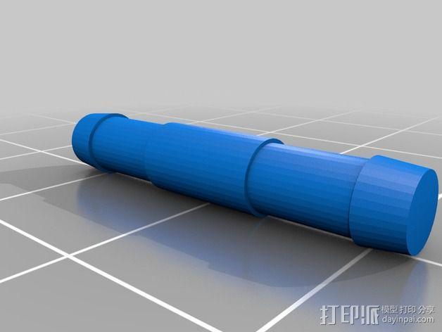 自行车链条 3D模型  图4