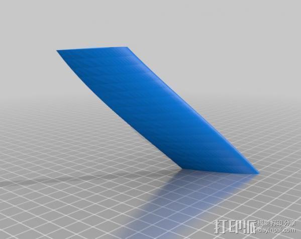 螺旋叶片风车 3D模型  图5