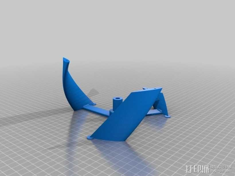 螺旋叶片风车 3D模型  图8