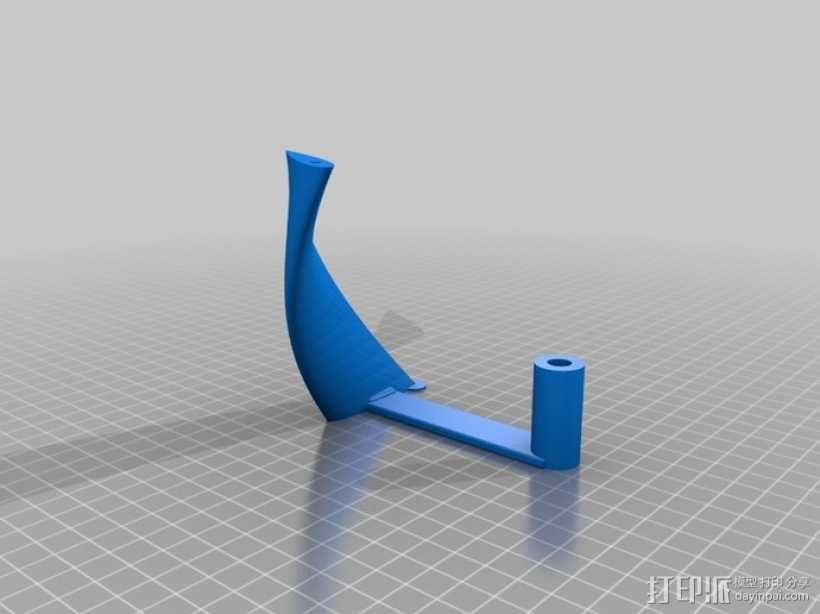 螺旋叶片风车 3D模型  图10