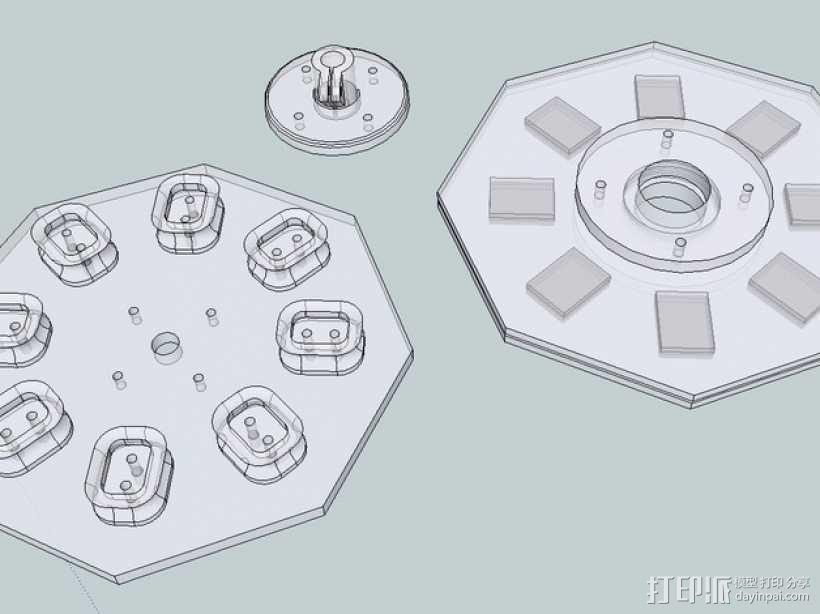 发电机  3D模型  图3