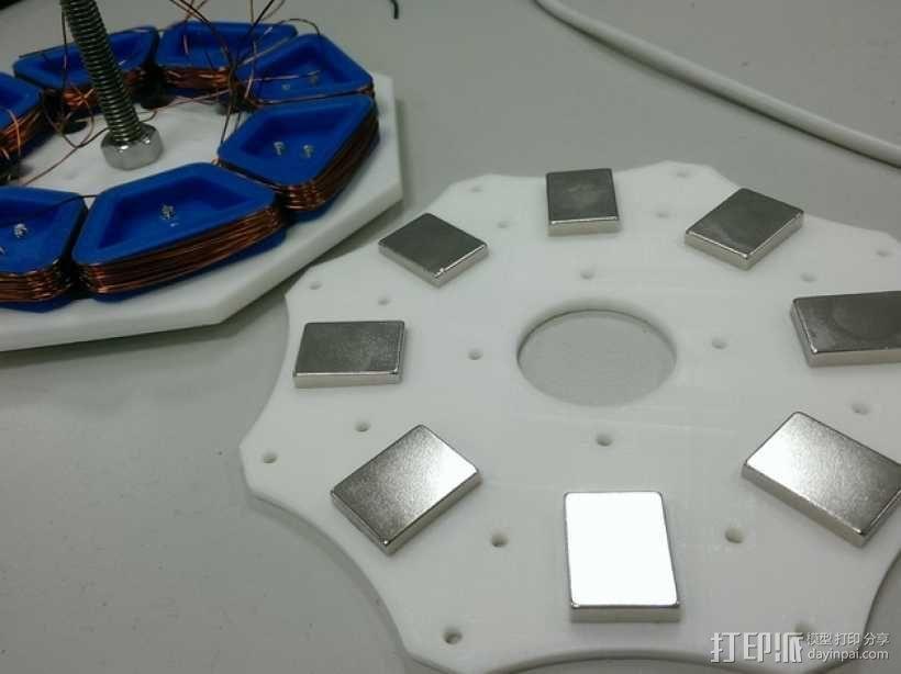 发电机  3D模型  图1