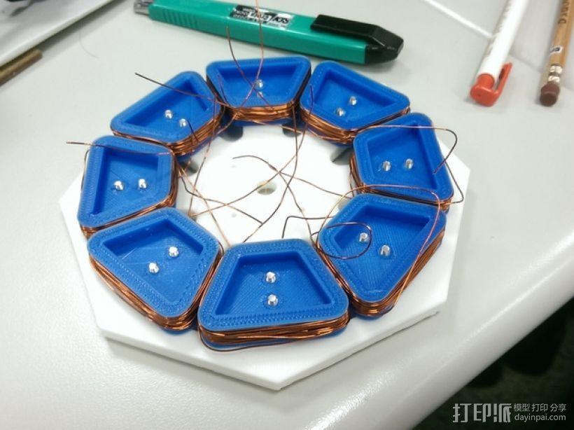 发电机  3D模型  图2
