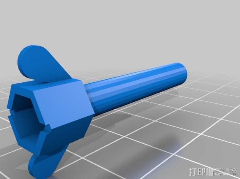 螺丝钉 3D模型  图2