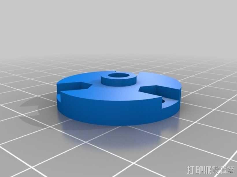 蠕动泵 3D模型  图2