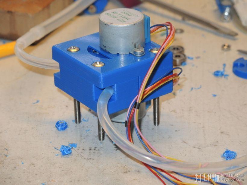 蠕动泵 3D模型  图1
