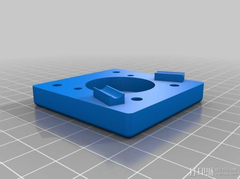 蠕动泵 3D模型  图4