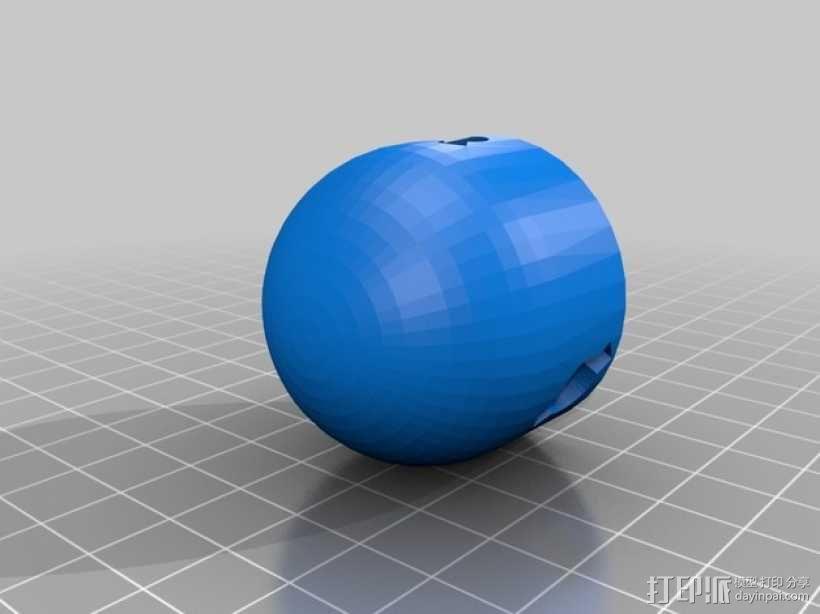 风力涡轮机 3D模型  图5