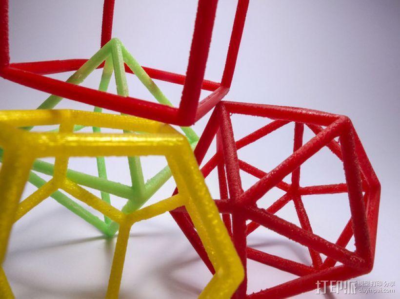 正多面体 3D模型  图3