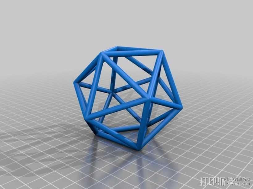 正多面体 3D模型  图5
