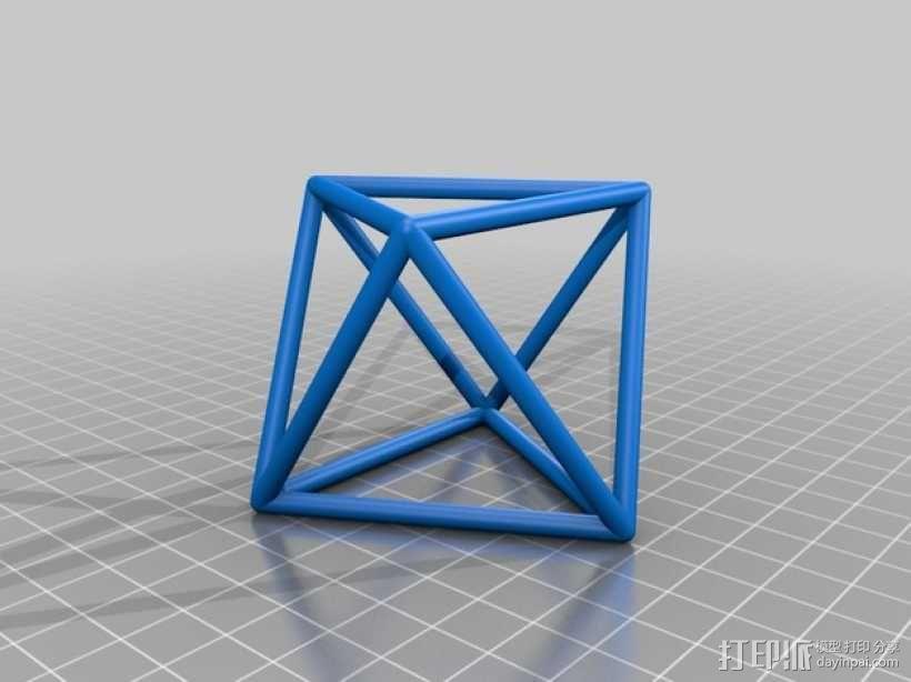 正多面体 3D模型  图6