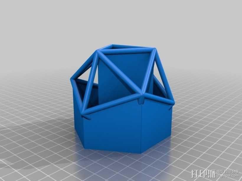 正多面体 3D模型  图8